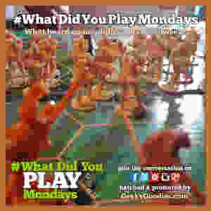 What Did You Play Mondays   Join the board game conversation every week with the hashtag #WhatDidYouPlayMondays   Geeky Goodies