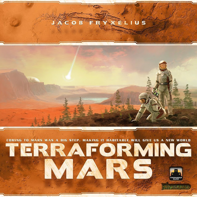 Contest Alert | Enter for a chance to win a board game | Geeky Goodies | Terraforming Mars