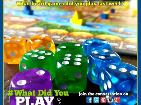 What Did You Play Mondays? March 4, 2019