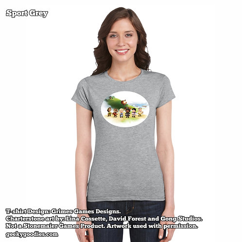 Charterstone Women's FITTED T-shirts