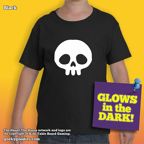 Haunt The House Glow-in-the-Dark Children's T-shirt
