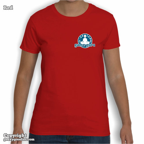 "Game Guru Women's T-shirts (Small ""Pocket-Size"" Version)"