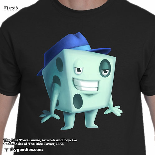 Dice Tom from The Dice Tower Men's / Unisex T-shirt