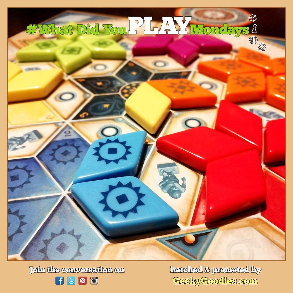 Board Game in photo: Azul: Summer Pavilion | #WhatDidYouPlayMondays