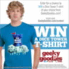 Geeky Goodies Contest | Geeky Giveaway | Geeky Goodies | T-shirts for Boad Gamers