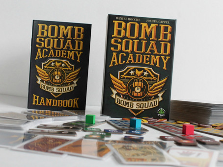 Board Game Review: You Can Cut the Tension with a Knife in Bomb Squad Academy