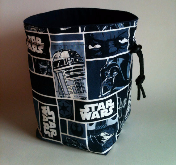 Star Wars Stand-up Dice Bag | Geeky Goodies
