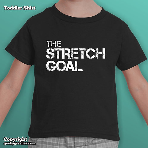 Stretch Goal Toddler's T-shirt (Matching Board Game Family T-shirts)