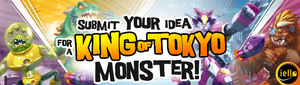 #ContestAlert Submit your idea for a King of Tokyo Monster | Board Game Contests and Giveaways | WIN | Board Game Contest