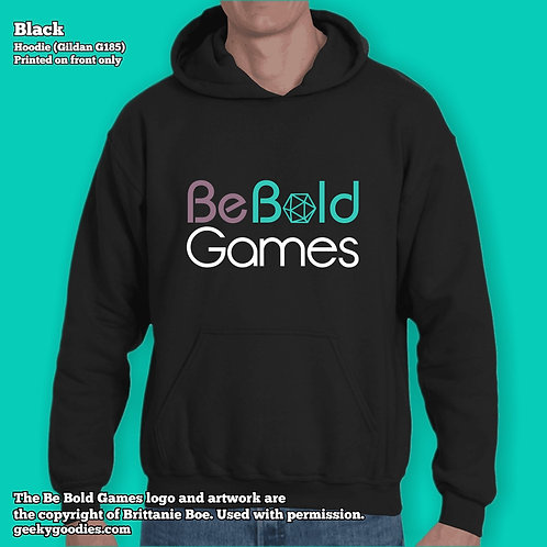 Be Bold Games Logo Unisex Hooded Sweatshirts
