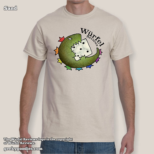 Würfel ReviewsMens/Unisex T-shirt (Light Colors)