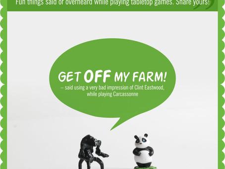 Board Game Quote of the Week - Takenoko