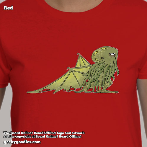 Bored Cthulhu from Bored Online? Board Offline! Women's T-shirt