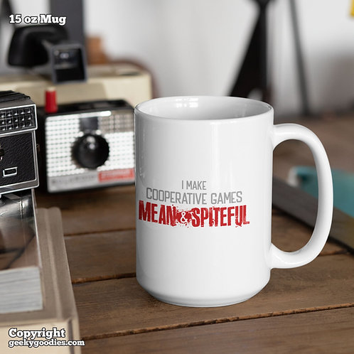 I Make Cooperative Games Mean and Spiteful Coffee Mugs