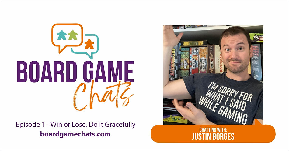 Board Game Chats Podcast | Episode 1