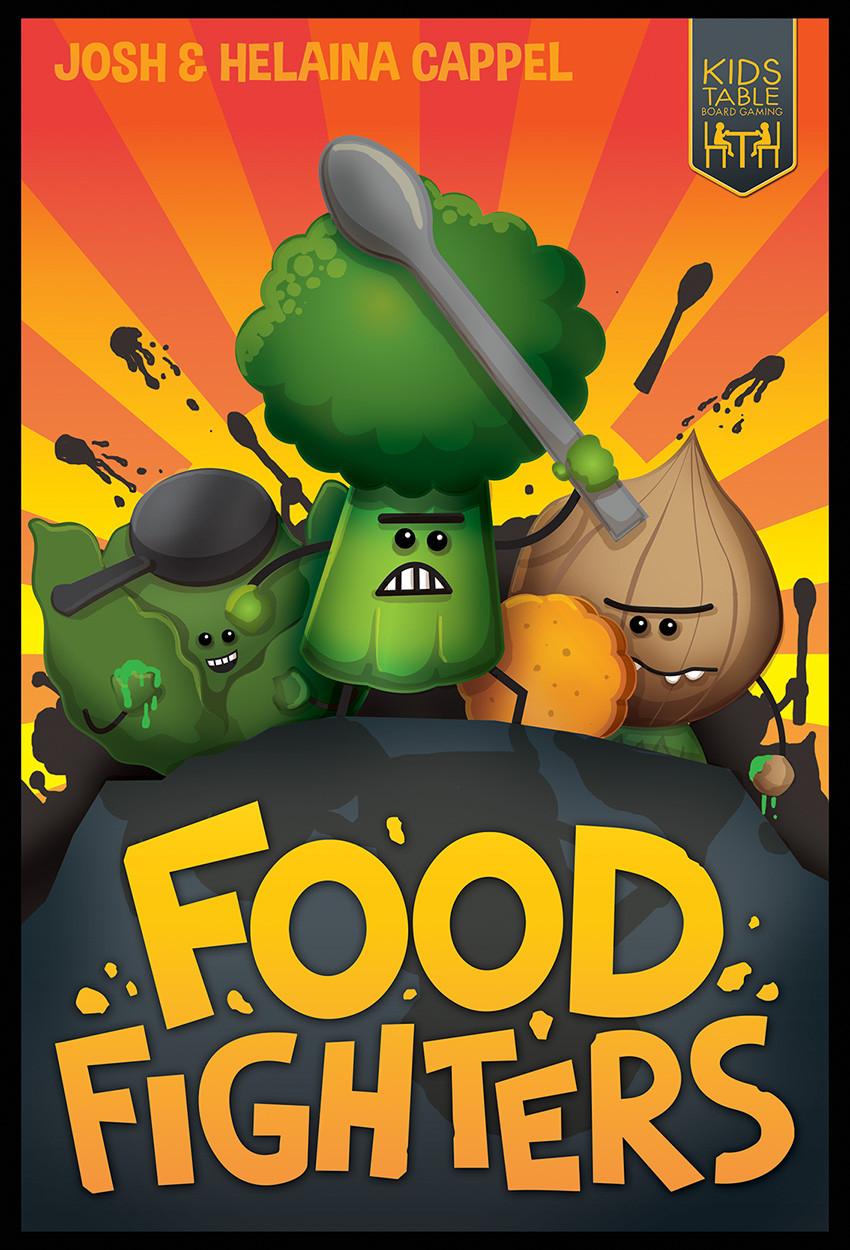 Food Fighters | Josh & Helaina Cappel | Kids Table Board Gaming