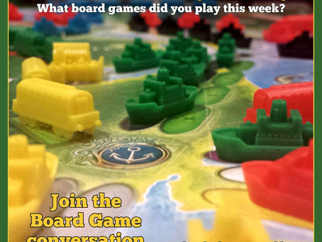 What Did You Play Mondays? November 21, 2016