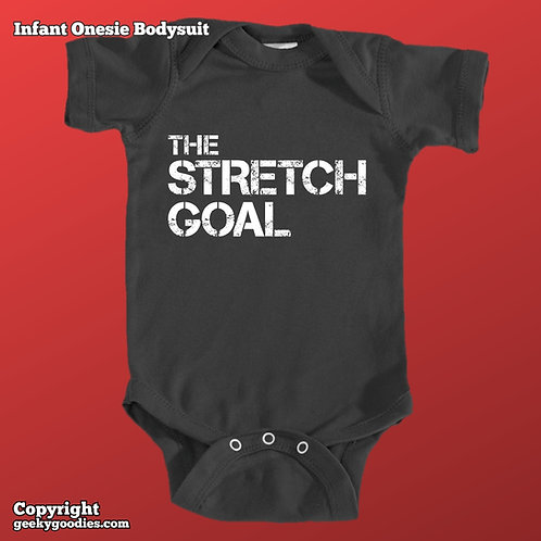Stretch Goal Infant Onesie Bodysuit (Matching Board Game Family Shirts)