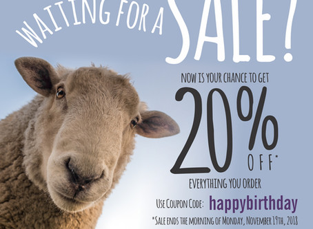 Been Waiting for a SALE? Now Is Your Chance!