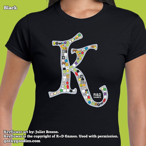 Keyflower Key-series Women's FITTED T-shirts
