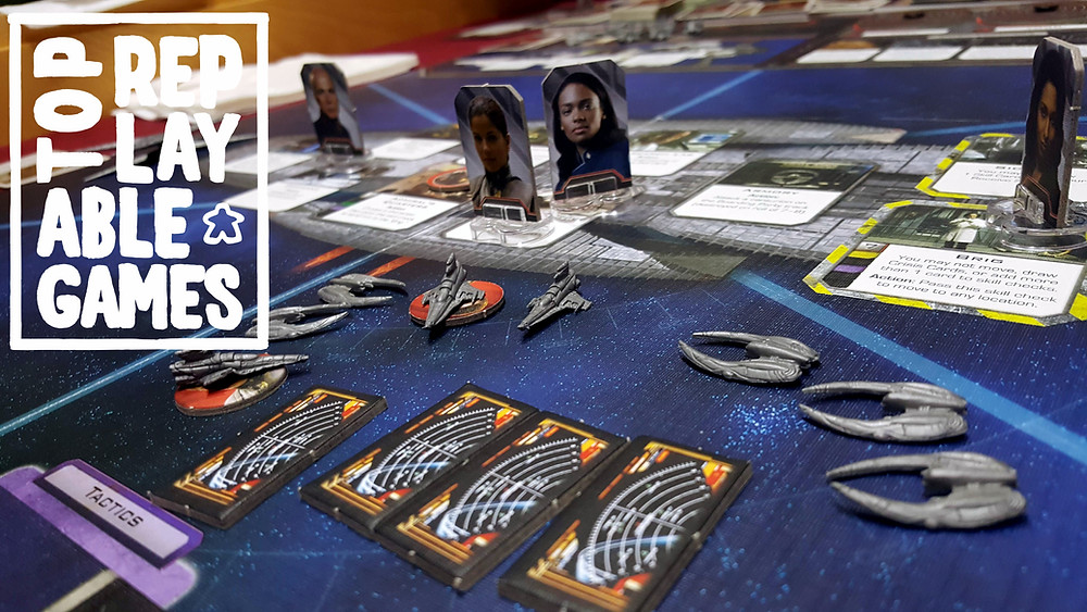 Battlestar Galactica almost didn't make it into my list of replayable games.  It is a great game.  But it goes against a few very important rules for replayablility, in my opinion.
