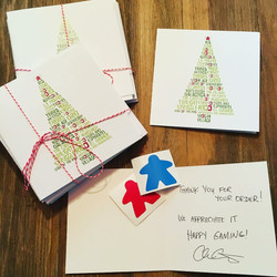 Strategy Game Christmas Cards