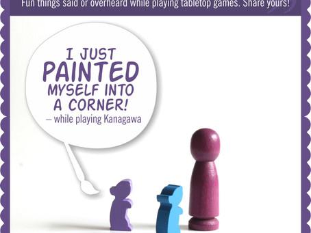 Board Game Quote of the Week - Kanagawa