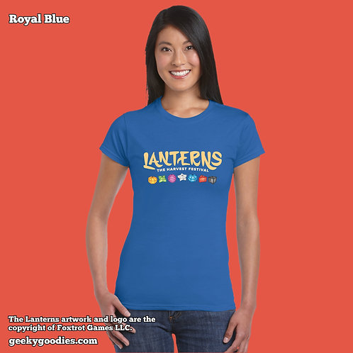 Lanterns: The Harvest Festival Women's FITTED T-shirts