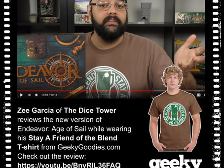 Dice Tower Stay a Friend of the Blend T-shirts