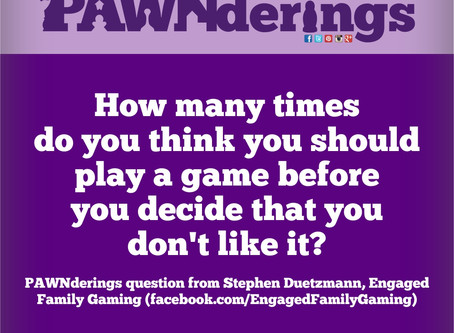 #PAWNderings - How Many Plays