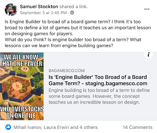 5 Types Of Content To Market Your Board Game