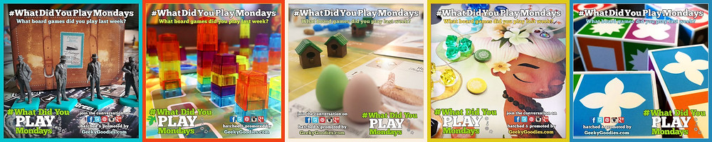 #WhatDidYouPlayMondays | Geeky Goodies