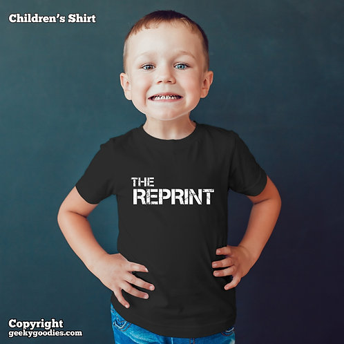 The Reprint Children's T-shirt  (Matching Board Game Family T-shirts)