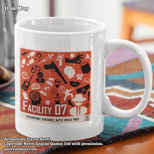 Facility 07 Coffee Mug (Never Engine Games)