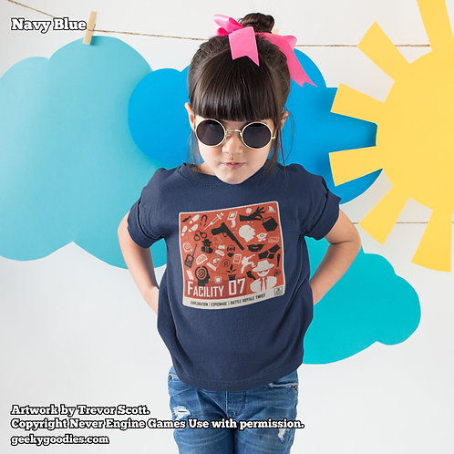 Facility 07Children's T-Shirt (Never Engine Games)
