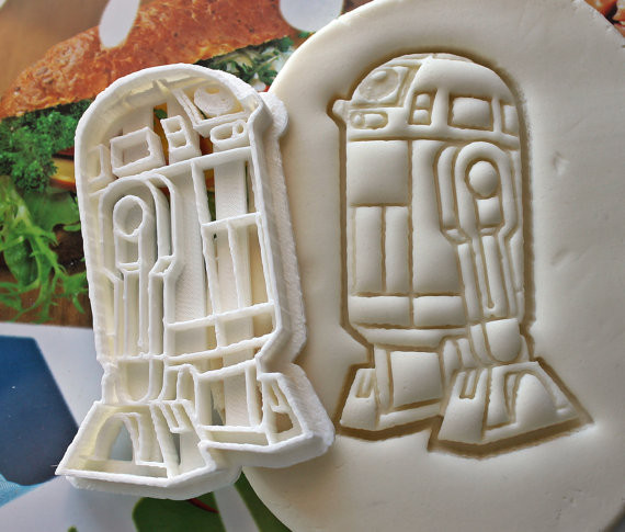 R2-D2 Cookie Cutter | Geeky Goodies