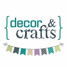 Decor and Crafts   garland, customized invitations, cupcake toppers
