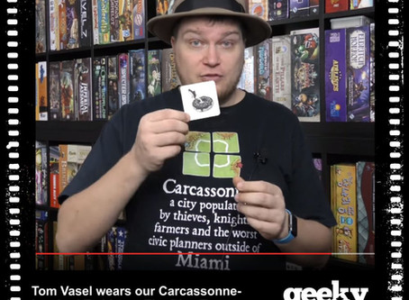Tom Vasel Wearing Geeky Goodies While Reviewing Codenames Pictures