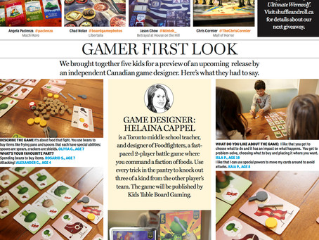 Our Photo Is In The National Post Today!