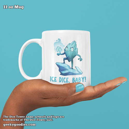 Ice Dice, Baby Dice Tower Superhero Coffee Mugs