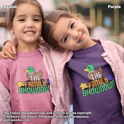 The Family Showdown Children's Shirts