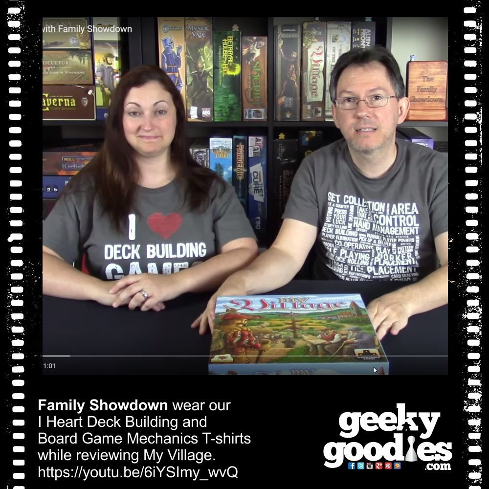 Family Showdown | Geeky Goodies Tees