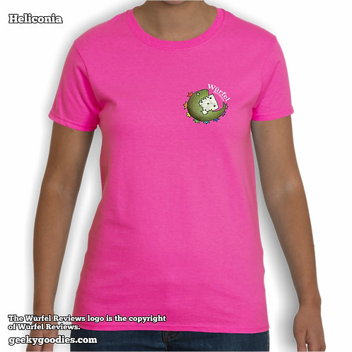 Würfel Reviews (Small Logo/Pocket-Size) Women's T-shirt