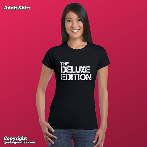 The Deluxe Edition Women's FITTED T-shirt (Matching Board Game Family T-shirts)