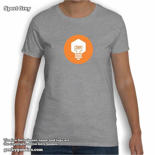 JonGetsGames (Orange Logo) Women's T-shirt
