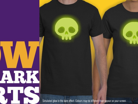 Haunt The House With These Glow-In-The-Dark T-shirts