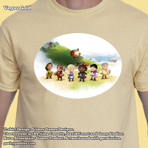 Charterstone Mens/Unisex T-shirt (Light Colors)
