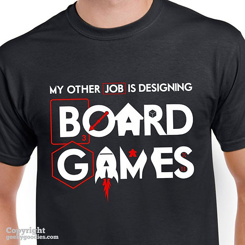 My Other Job is Designing Board Games Performance (Breathable) Shirt