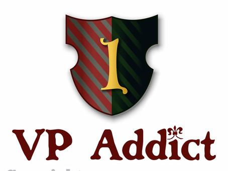 VP (Victory Point) Addict White T-shirt