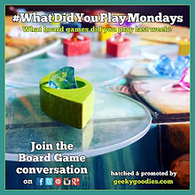 #WhatDidYouPlayMondays | Board Game discussion online - every week | We love hearing from you and hope you'll join us every Monday. Tweet, post and share what games you've played during the previous week using the #WhatDidYouPlayMondays